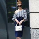 Size S ladies strapless lantern cuff Slim package hip dress