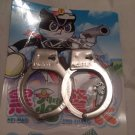 Handcuffs Lock Triple Hinged Police Hand Cuffs 2 Keys FREE SHIPPING
