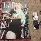 MARILYN MONROE cover turkish FULL magazine BOOKMARK GIFT  new MOTORHEAD