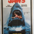 """JAWS SPIELBERG UNIQUE """"GIRL IN MOUTH"""" ORIGINAL TURKISH MOVIE POSTER EXTREME RARE"""