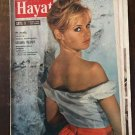 Brigitte Bardot COVER ORIGINAL TURKISH MAGAZINE RARE HARD TO FIND