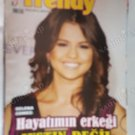 SELENA GOMEZ COVER VERY HARD TO FIND OLD TURKISH MAGAZINE EXTREME RARE