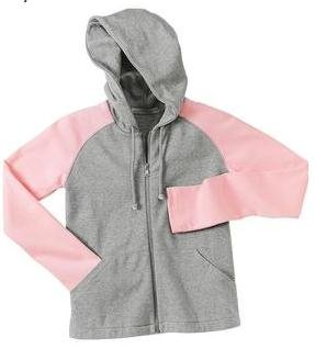 Ladies Stretch Blend Full Zip Hooded Jacket.