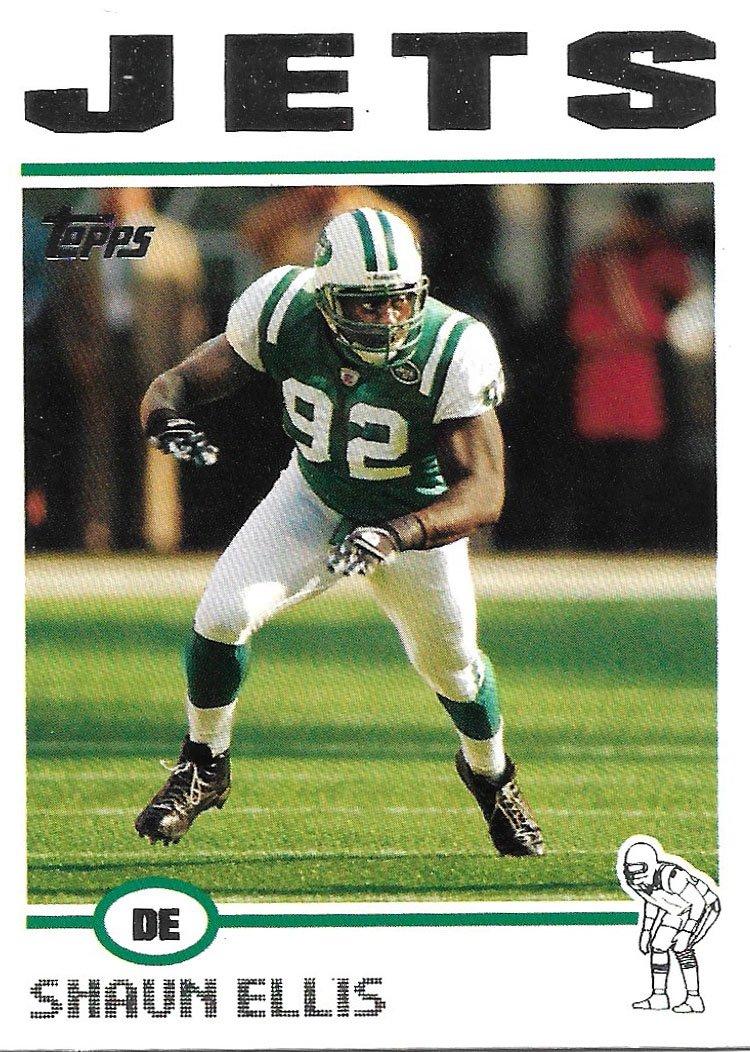 Shaun Ellis 2004 Topps #121 New York Jets Football Card