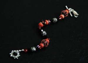 Midnight Coral Bracelet