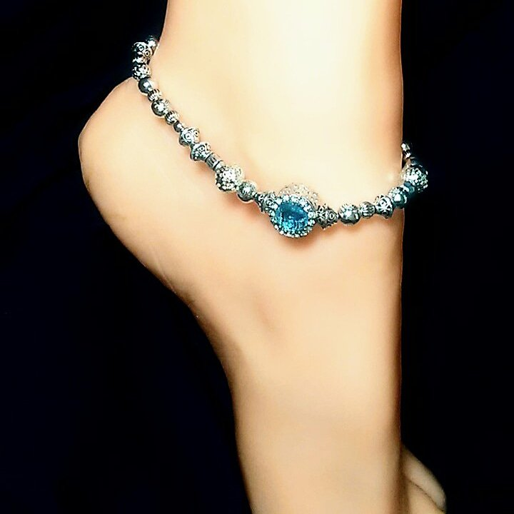 Blue Dynasty III Anklet
