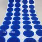 LOVETEX Brand 20mm Lt Royal Blue  Coin Hook and Loop Adhesive-Backed Craft Supplies