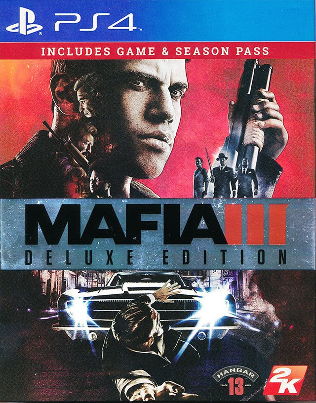 Mafia Games For Ps4 : Mafia deluxe edition ps game english chinese