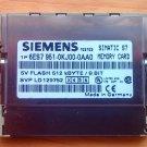 Siemens Simatic S7 6ES7 951-0KJ00-0AA0 memory card 512kBYTE/8 BIT