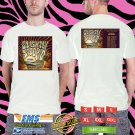 2018 LIVE:SLIGHTLY STOOPID JUST PASSING THROUGH TOUR WHITE TSHIRT W DATES CODE RDF01