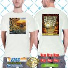 2018 LIVE:SLIGHTLY STOOPID JUST PASSING THROUGH TOUR WHITE TSHIRT W DATES CODE RDF02