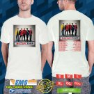 2019 LIVE NEW KIDS ON THE BLOCK MIXTAPE TOUR WHITE TSHIRT W DATES CODE RDF01