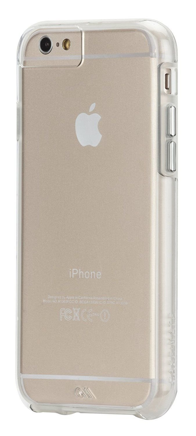 Case-Mate Naked Tough Case Cover for iPhone 6/6s - Clear W/ Clear Bumper