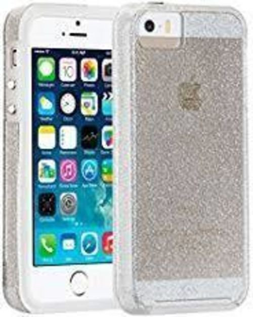 Case Mate iPhone 5/5s/SE Naked Tough Sheer Glam - Clear Sparkle
