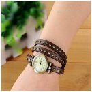 Wrap belt watch bracelet