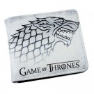 Game of Thrones Cosplay Short Wallet Money Bag Card and Photo Holder Stark House Wolf