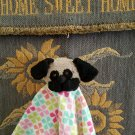 Pug Baby Security Blanket Handmade