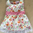 Sugar & Honey Brand Girls Sleeveless Summer Dress Size 12-18 Months