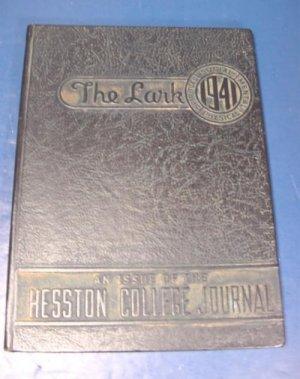 Hesston College Journal 1941 yearbook The Lark college and Bible school Kansas Ks. Mennonite