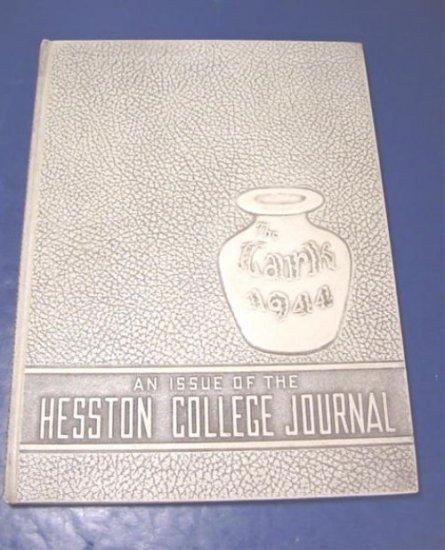 1944 Hesston College Journal The Lark yearbook college and Bible school Kansas Ks. Mennonite