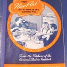 1940 The New Art of Simplified Cooking General Electric GE vintage cookbook recipes cook book