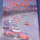 Stock Car Racing book Bill Holder automoile history tracks cars auto race 1990 NASCAR many photos