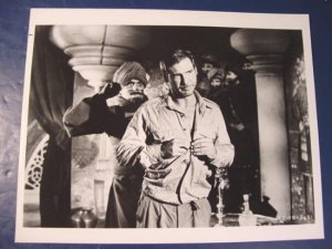 Indiana Jones Harrison Ford Temple of Doom IJ-TD-5651 black white photograph 8 x 10 1980s photo