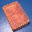 Antique Swedish Psalm Book Bible 1884 Den Svenska Psalm-Boken leather cover gold gilt edges