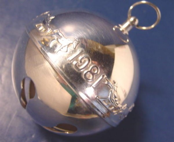 Sterling Christmas Ornaments
