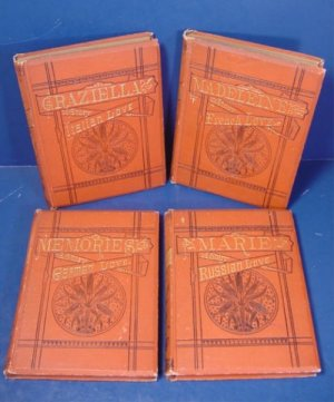 1879 Memories A Story of German Love, Graziella Italian, Marie Russian, Madeleine French 4 books