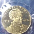James Dean 1996 coin Republic of the Marshall Islands ten dollars brass metal 10 dollar sealed