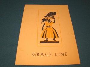 Grace Line S. S. SS Santa Paula 1951 ocean liner cruise breakfast menu vintage nautical ship boat