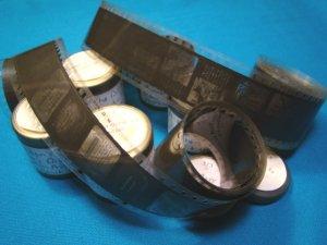 Nation Born 5 roll 40s  Filmstrip 35mm school education celluloid projector film strip 35 mm movie