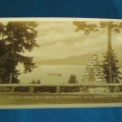 RPPC Prospect Point Stanley Park Vancouver B.C. Canada real photo postcard Gowen Sutton sepia 30s