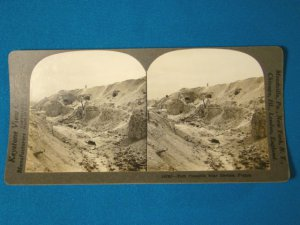 Fort Pompelle Rheims Reims France WWI stereoview stereograph stereoscope card Keystone View antique