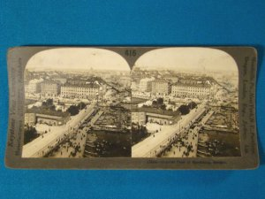 Stockholm Sweden waterway stereoview stereograph stereoscope card Keystone stereo view antique 1900s