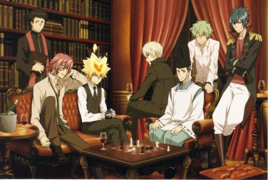 Anime Poster 12x18 Katekyo Hitman Reborn 991139 Alaude Asari Ugetsu