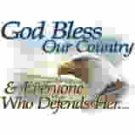 God Bless Country Eagle t-shirt
