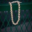 Ruth Street Gold Diamond Rope Chain