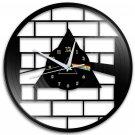 Pink Floyd 12-Inch Black Vinyl Wall Clock Retro Unique Music Art Gift