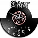 Slipknot 12-Inch Black Vinyl Wall Clock Retro Unique Music Art Gift