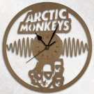 Arctic Monkeys Wood Wall Clock Retro Unique Art Gift