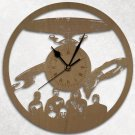 Star Trek Wood Wall Clock Retro Unique Art Gift