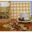 Greek Herbal Tea Blend Beverage Mountain Tea Sideritis & Dried Hibiscus 250gr / 8.81oz