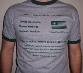Facts of Pot Tshirt