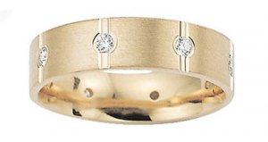 Benchmark - 6mm Flat Comfort Diamond Eternity Band Reg. $1,723