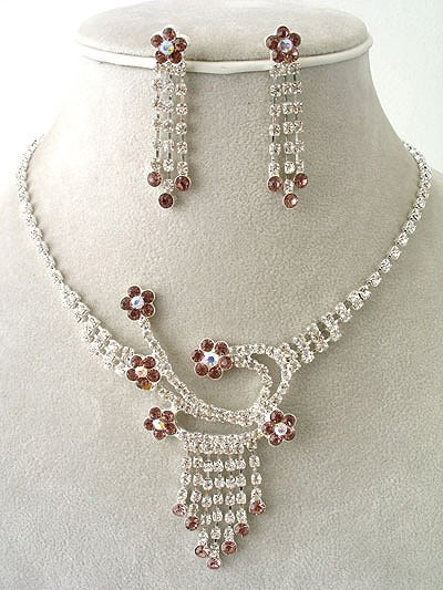 """Elegance"" Necklace/Earring Set Reg $49.99"