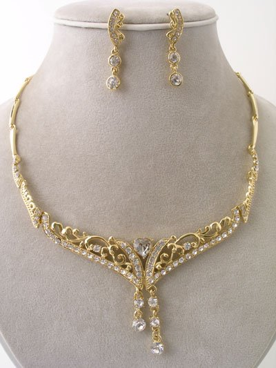"""Victorian Charm"" Necklace/Earring Set Reg $59.99"