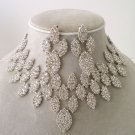 """The Queen"" Designer replica Necklace/Earring Set Reg $139.99"
