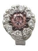 Champagne Diamond Earrings Reg $481